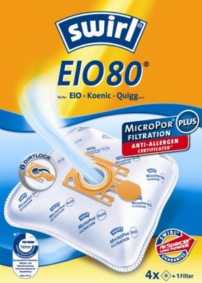 Swirl EIO 80 - 4 Staubsaugerbeutel