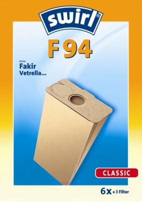 Swirl F 94 - 6 Staubsaugerbeutel