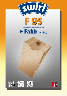 Swirl F 95 - 4 Staubsaugerbeutel