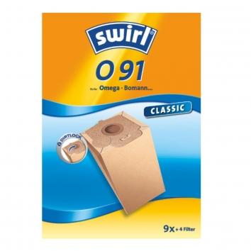 Swirl O 91 - 9 Staubsaugerbeutel