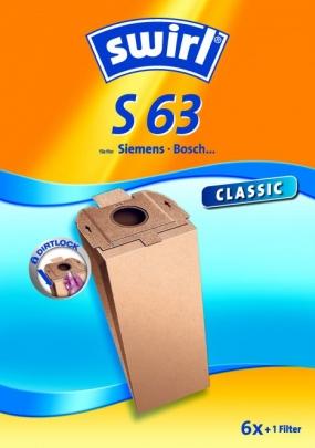 Swirl S 63 Staubsaugerbeutel