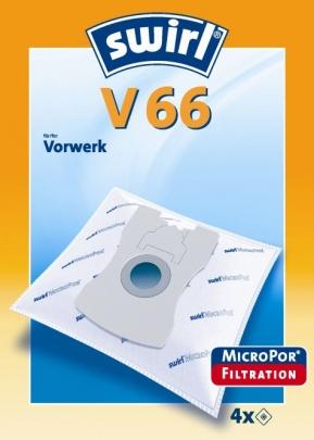 Swirl V 66 Micropor Staubsaugerbeutel