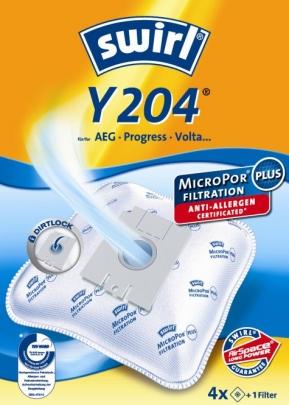 Swirl Y 204 Micropor Staubsaugerbeutel