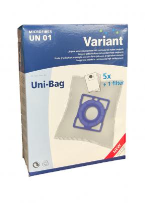 Variant UN01 Microvlies Staubsaugerbeutel + Microfilter