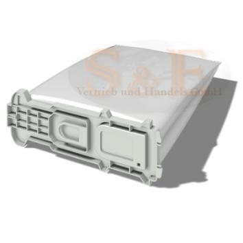 6 Staubsaugerbeutel geeignet für Vorwerk VK 135 mit Kunstoffplatte