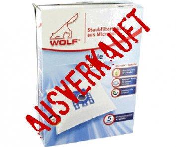 Wolf 0500 Staubsaugerbeutel Micropor