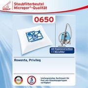 Wolf 0650 Staubsaugerbeutel Micropor