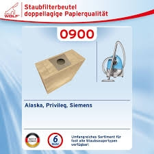 Wolf 0900 Staubsaugerbeutel Micropor