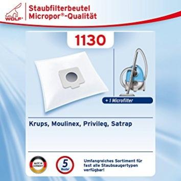 Wolf 1130 Staubsaugerbeutel Micropor